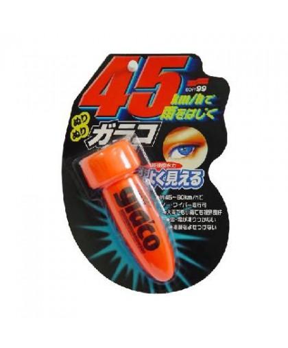 "Водоотталкивающее покрытие для стекол ""Антидождь"" Glaco Roll On Soft99, 75мл Soft99 04132"