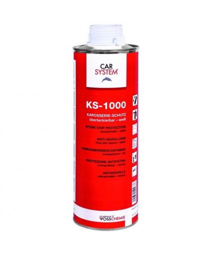 CARSYSTEM KS-1000 Антигравийное покрытие окрашиваемое серое 1л