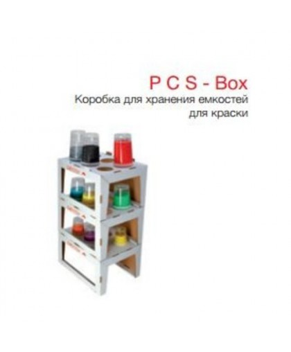 CARSYSTEM Стеллаж для хранения RPS/PPS емкостей (комплект из 12 полок)