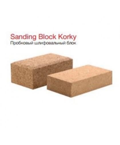 CARSYSTEM Шлифовальный блок Korky I для водостойкой бумаги