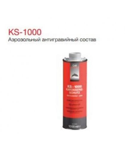 CARSYSTEM KS-1000 Антигравийное покрытие окрашиваемое белое 1л