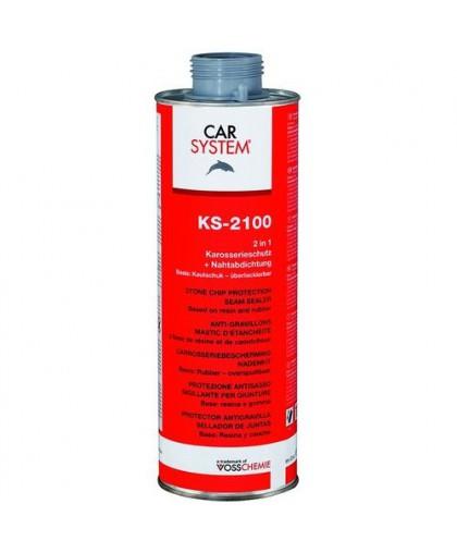 CARSYSTEM KS-2100 Антигравийное покрытие-герметик (черный) 1л