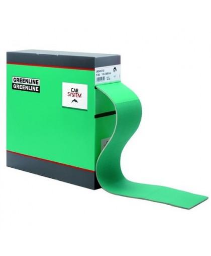 CARSYSTEM Абразивная бумага Greenline Flex 115 мм x 25 м в рулоне P400