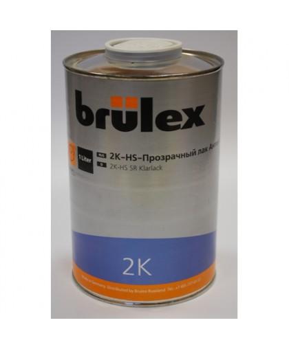 BRULEX 2K-HS-Прозрачный лак Антискретч, 1л