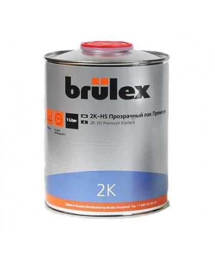 BRULEX 2K-HS-Прозрачный лак Премиум, 1л