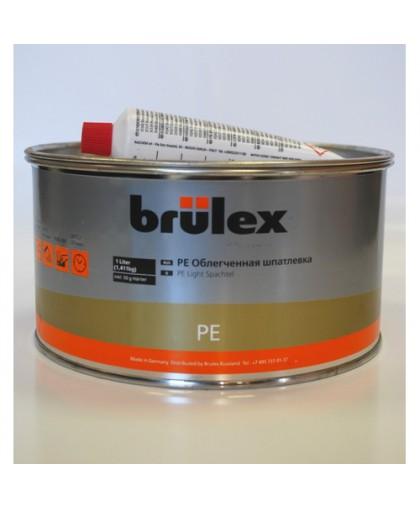 BRULEX PE-Шпатлевка облегченная с отвердителем, 1л