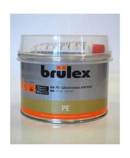BRULEX PE-Шпатлевка универсальная мягкая c отвердителем , 1кг