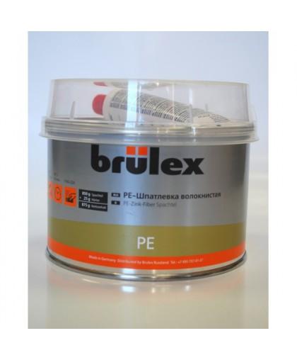 BRULEX PE-Шпатлевка волокнистая с отвердителем (зеленая), 0,875кг