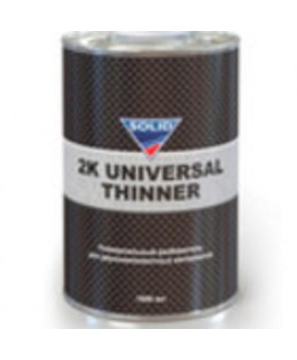 SOLID 2K UNIVERSAL THINNER (фасовка 1000 мл) разбавитель для двухкомпонентных материалов