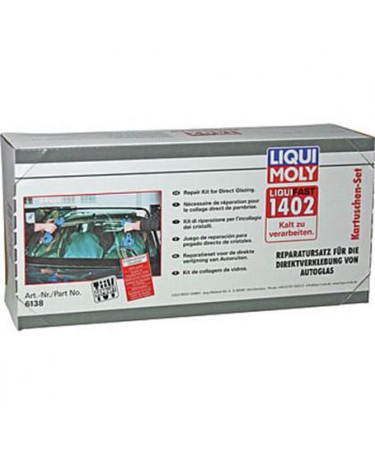 Набор для вклейки стекол (среднемодульный) Liquifast 1402 (Kartuschen-Set)