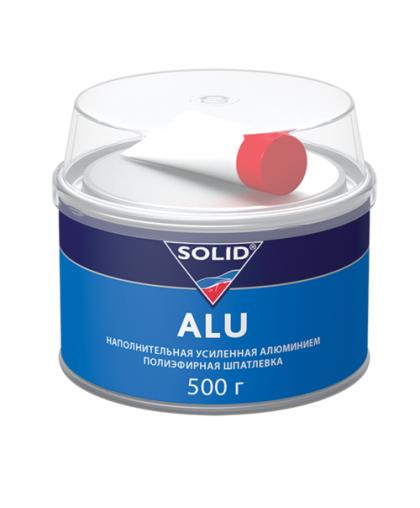 SOLID ALU - наполнительная шпатлевка, усиленная алюминием