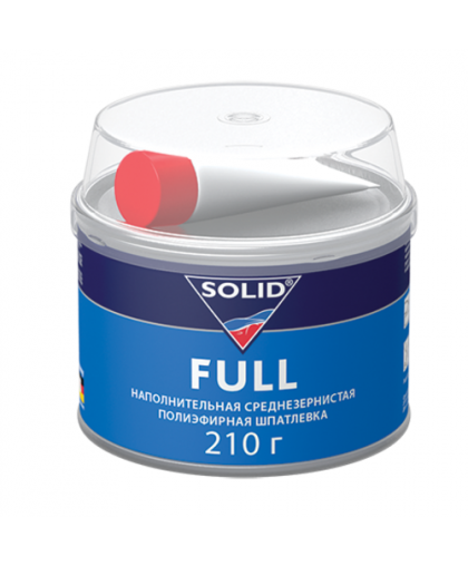 SOLID FULL - наполнительная среднезернистая шпатлевка