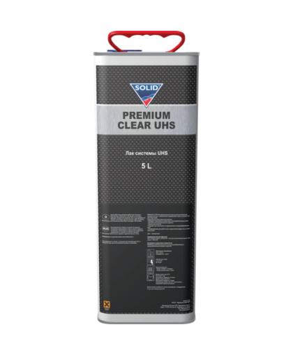 SOLID PREMIUM CLEAR UHS (5000+2500 мл.) - 2K Лак системы UHS ( в комп. с отвердит.)