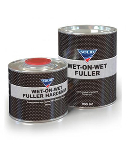 SOLID WET-ON-WET FULLER (1000 + 500мл.) - грунт мокрый по мокрому, бесцв. (в комп. с отв.)
