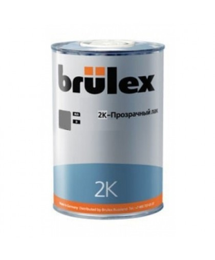 BRULEX 2K-HS-Прозрачный лак Ultra, 1л