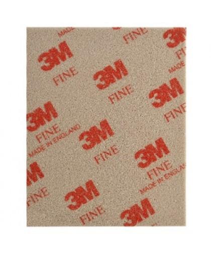 3М Абразивные губки SOFTBACK 115 x 140 мм, Fine/Тонкое зерно (Р280) (упаковка 20 шт.)