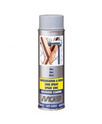 MOTIP Грунт алюминиево-цинковый для индустриального применения 0,5л