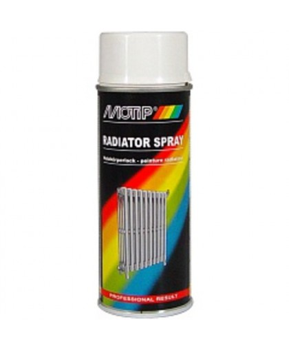 MOTIP Эмаль для бытовых радиаторов белая 0,4л