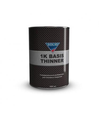 SOLID 1K BASIS THINNER (фасовка 1000 мл) разбавитель для базовых покрытий