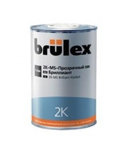 BRULEX 2K-MS-Прозрачный лак Бриллиант, 1л