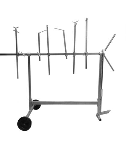 RoxelPro Стол для окрашивания кузовных деталей, поворотный