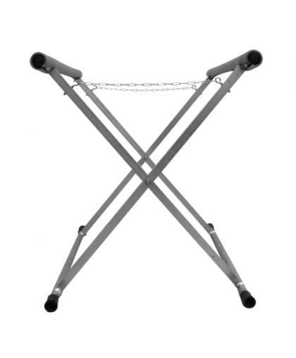 RoxelPro Стойка для окрашивания кузовных деталей, Х-образная, особопрочная, 900х800х1100мм