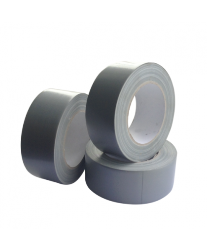 RoxelPro Клейкая лента для защиты от прошлифовки краев деталей, 48мм х 25м, серебристая