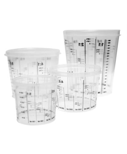 RoxelPro Ёмкость пластиковая для смешивания красок 0,385 л, (коробка 200шт)