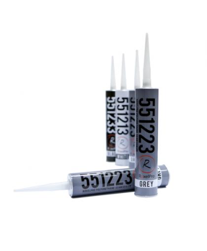 RoxelPro Многоцелевой ПУ герметик 550, серый, картридж 310мл