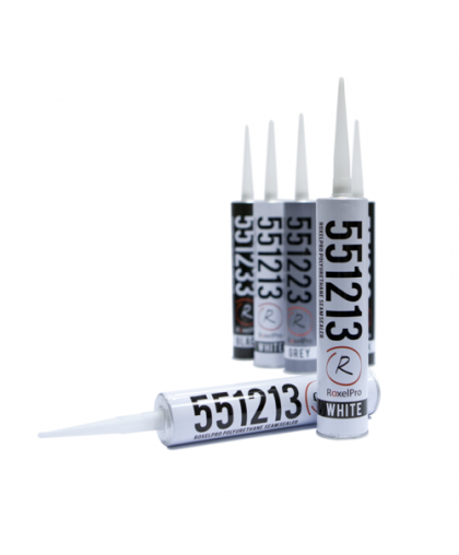 RoxelPro Многоцелевой ПУ герметик 550, белый, картридж 310мл
