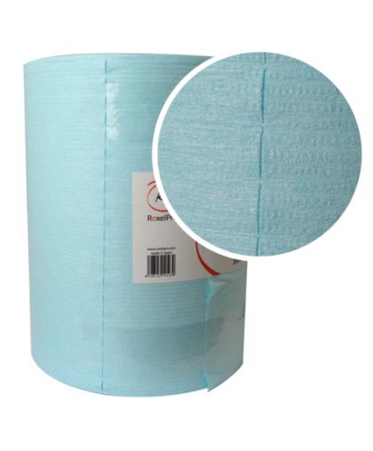 RoxelPro Обезжиривающая салфетка ULTRACLEAN, перфорированный рулон 400шт., 30х32см., голубая