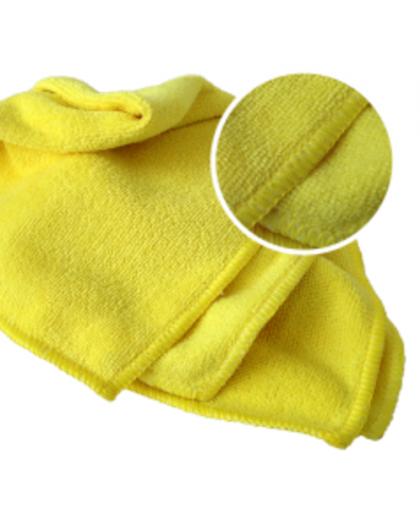 RoxelPro Многоразовая полировальная салфетка MICROSHINE из микрофибры, 40х40см., жёлтая