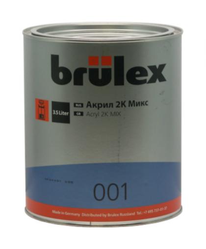 BRULEX Краска акриловая MIX 2К, 3,5л
