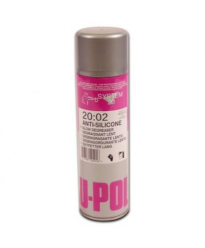 U-Pol S2002 Обезжириватель-антисиликон, медленный, 500 мл аэрозоль