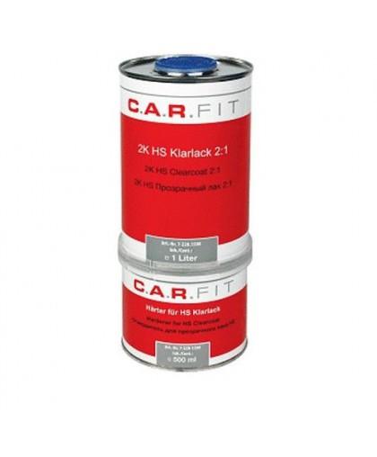 CARFIT Прозрачный лак HS 1л. вкл. отвердитель 0,5 л (комплект)