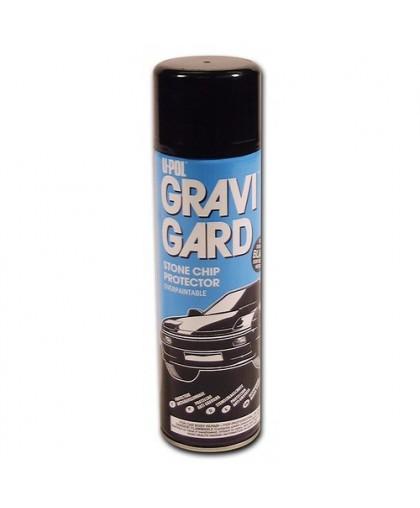 U-Pol GRAVIGARD HS Антигравийное покрытие, грубое, 500 мл аэрозоль