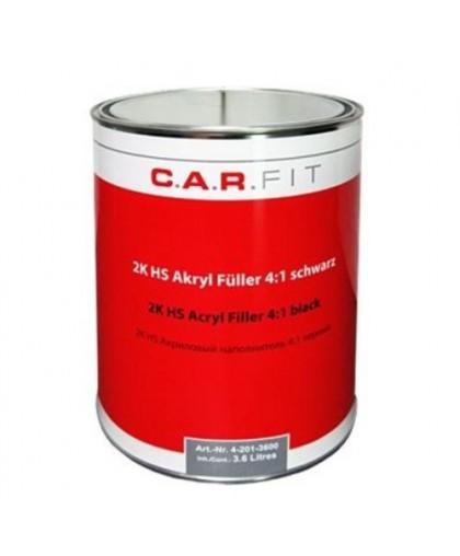 CARFIT 2К Акриловый грунт-наполнитель HS 4:1 черный 3,6 л