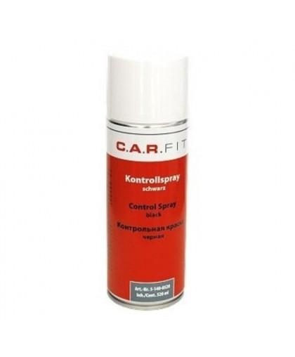 CARFIT Краска-спрей черная, матовая 520мл