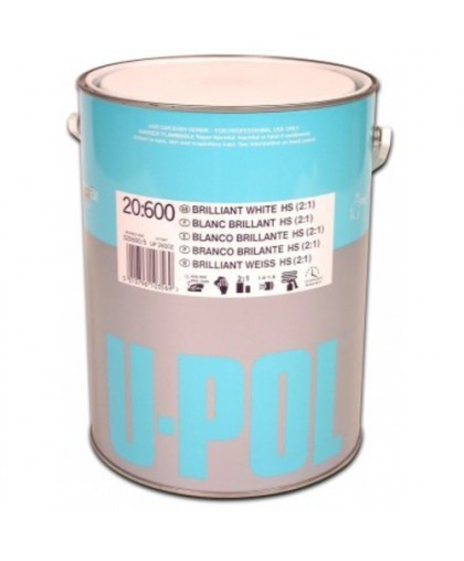 U-Pol S20623 Базовое покрытие серебристый металлик 1:1, 1 л