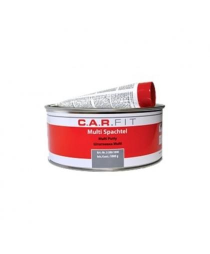 CARFIT 2К Шпатлевка полиэфирная для оцинк. и алюм. поверхностей Multi 1 кг, вкл.отв.