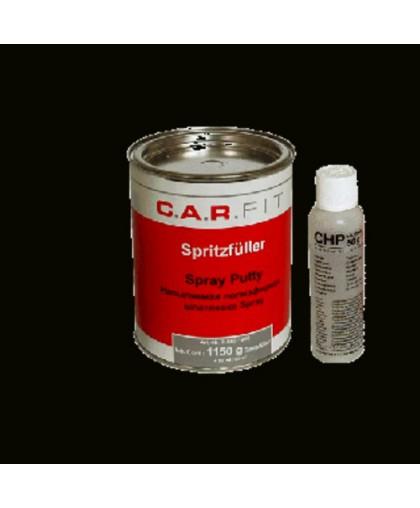 CARFIT 2K Шпатлевка полиэфирная напыляемая Spray 1,2 кг (включая отвердитель)