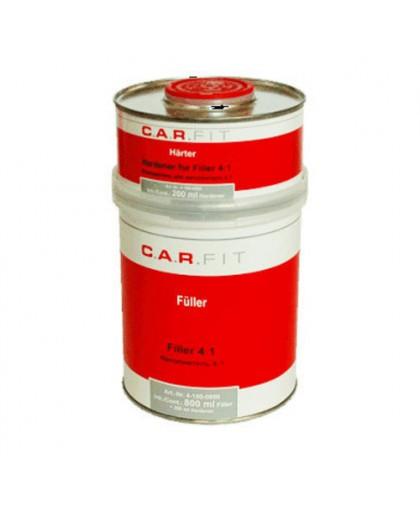 CARFIT 2K Акриловый грунт-наполнитель 4:1 серый (0,8+0,2кг) комплект
