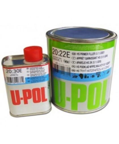 U-Pol S2022 UHS Грунт наполнитель Super Value 5:1, 1 л