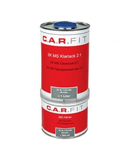CARFIT Прозрачный лак MS 1л. вкл. отвердитель 0,5 л (комплект)