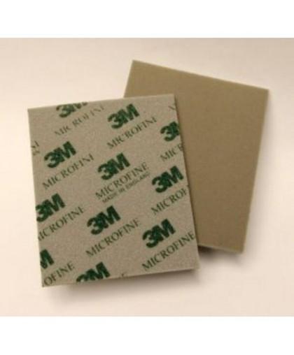 3М Абразивные губки SOFTBACK 115 x 140 мм, Microfine/Микротонкое зерно (упаковка 20 шт.)