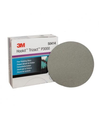 3М Абразивный полировальный круг Trizact Р3000, Диам. 150 мм, 15 круг Trizactов/коробка (упаковка 15 шт.)