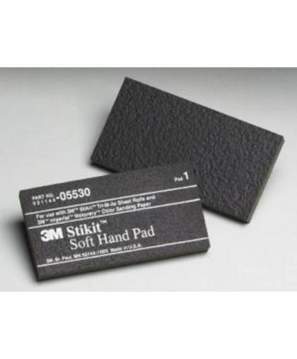 3М Губка-шлифок для полировки 70х140