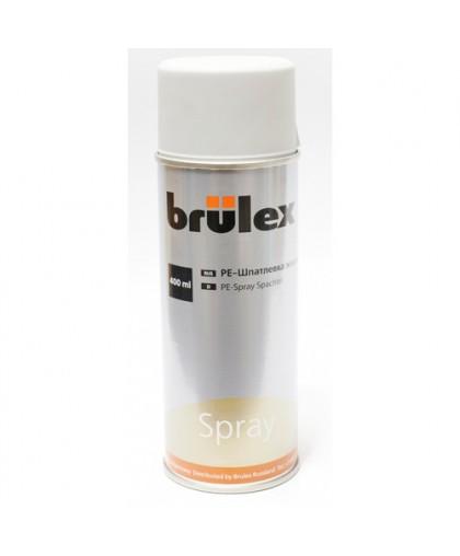 BRULEX PE-Шпатлевка жидкая, спрей 400 ml , 400мл
