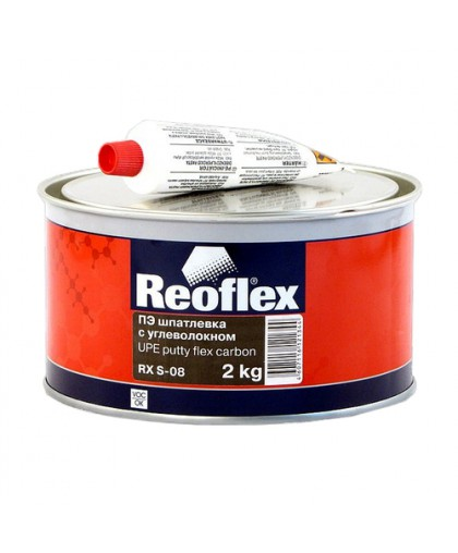Шпатлевка с углеволокном Flex Carbon REOFLEX, уп. 2кг (шт.)