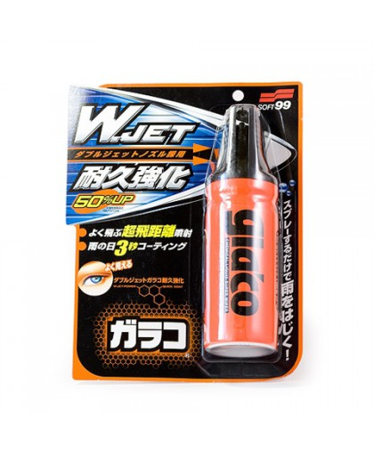 Водоотталкивающее покрытие для стекол Glaco W-Jet Soft99, 180 мл Soft99 04169